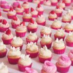 Bite Size Wedding Cupcakes