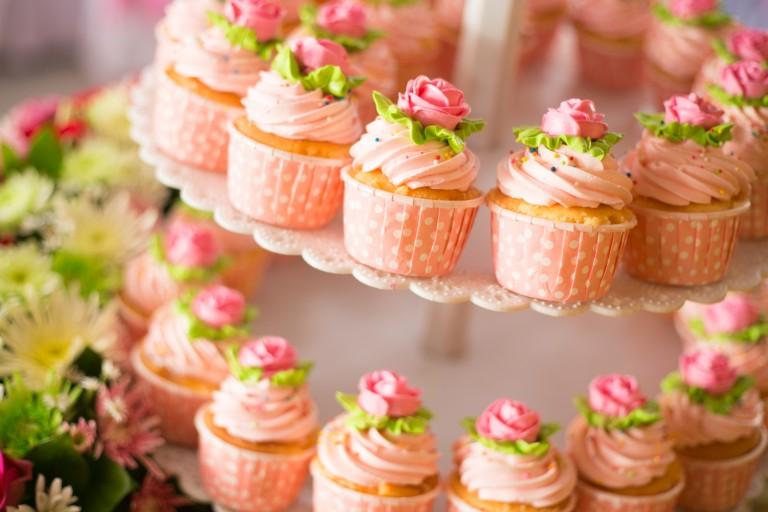 Buttercream Wedding Cupcakes