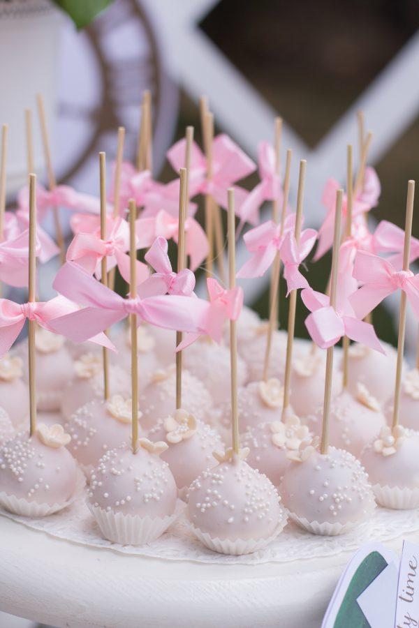 Cake Pops Ribbons
