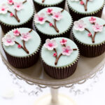 Cherry Blossoms Cupcakes