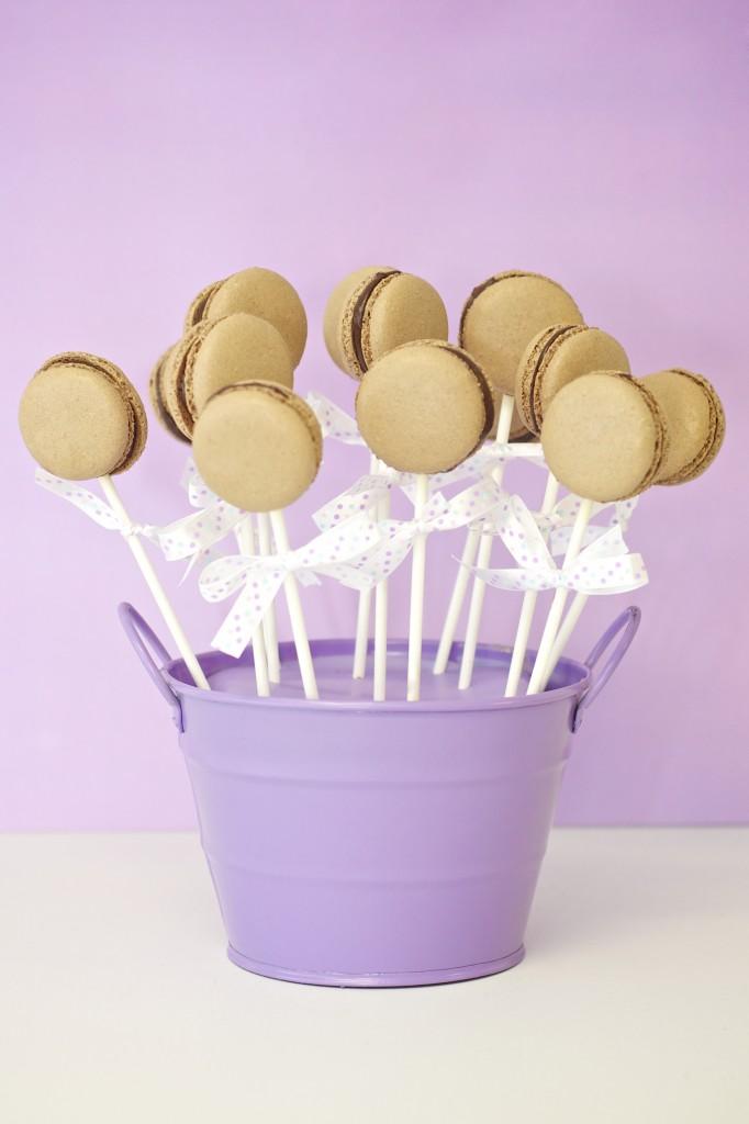 Macaron Lollies