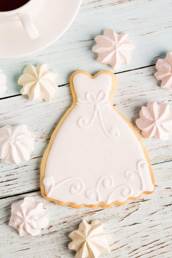 Wedding Cookies Bride