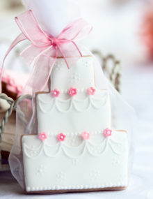 Wedding Cookies Cake