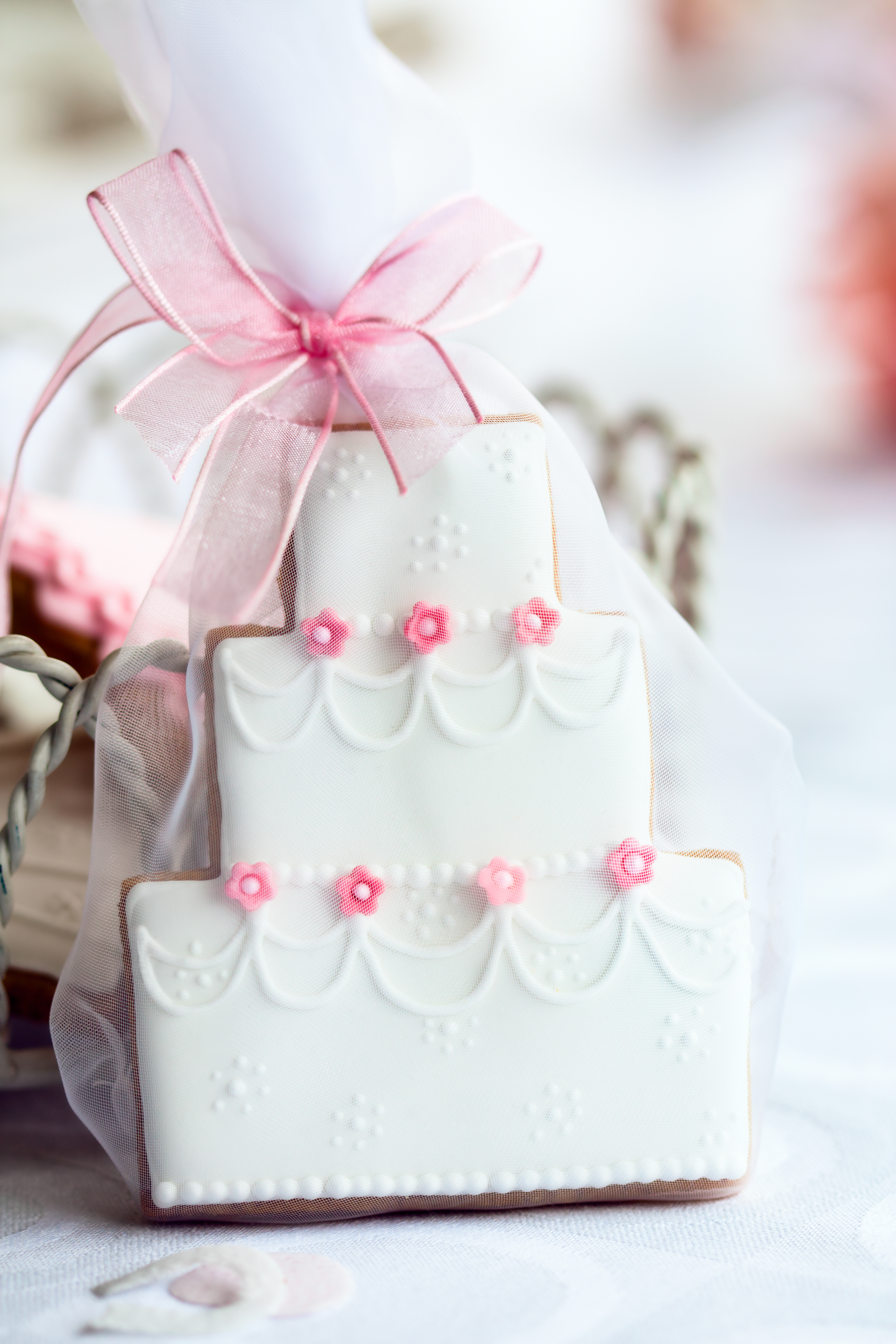 Wedding Cookies Cake