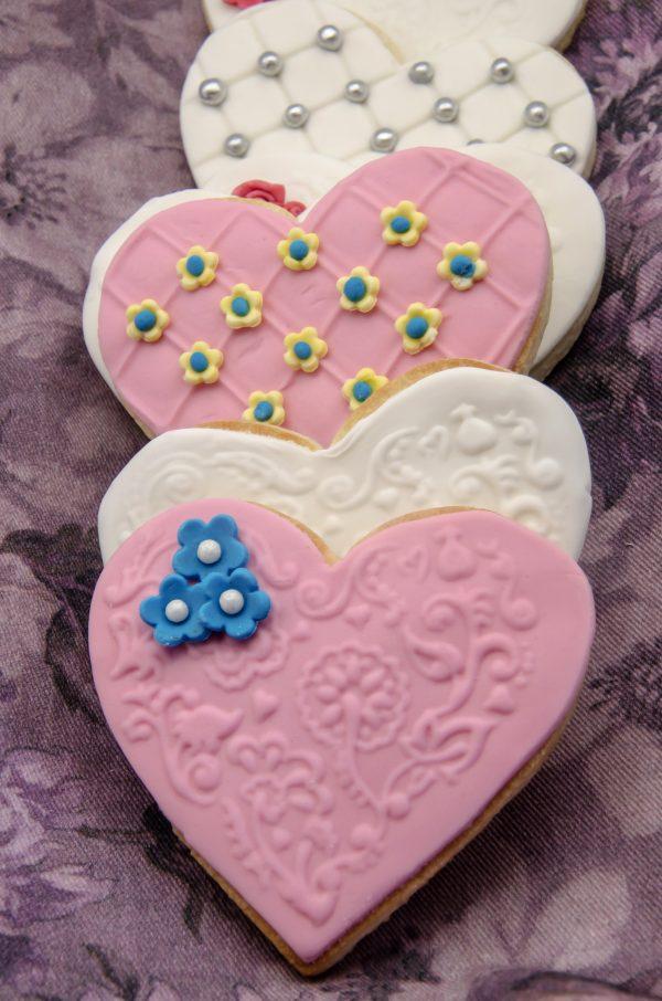 Wedding Cookies Heart