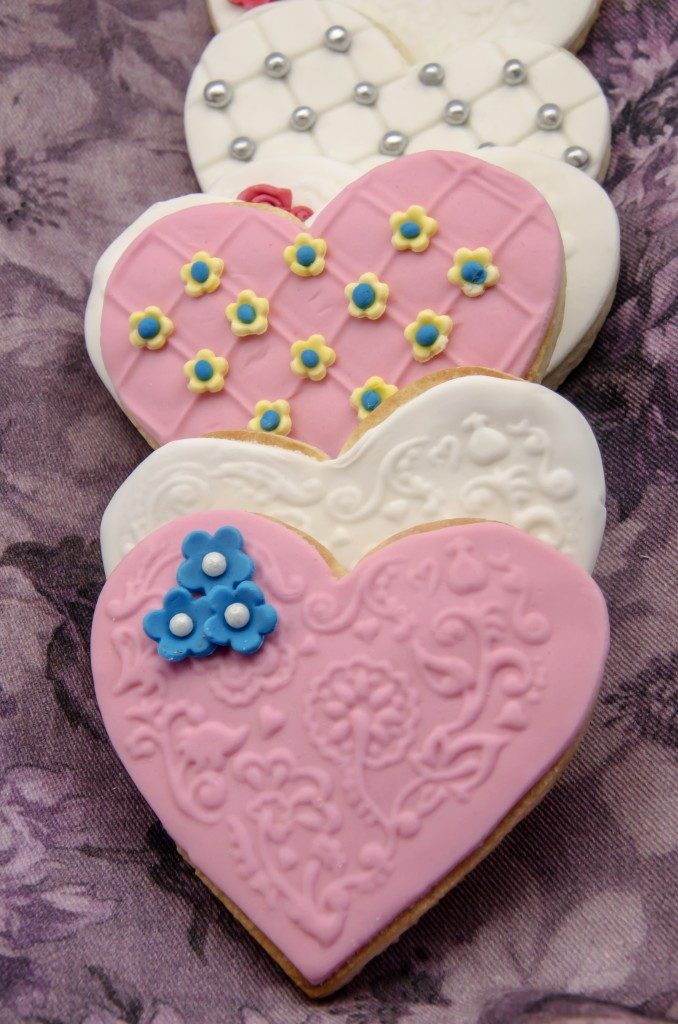 Wedding Cookies Heart