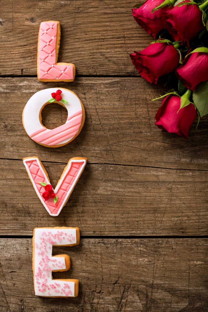 Wedding Cookies Love