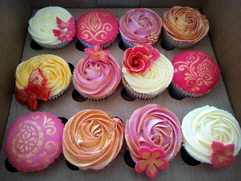 Wedding Cupcake  Sample Box 1
